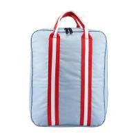 Складная дорожная сумка для путешествий с плечевым ремнём, цвет серый (2)