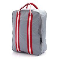 Складная дорожная сумка для путешествий с плечевым ремнём, цвет серый (1)
