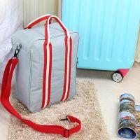 Складная дорожная сумка для путешествий с плечевым ремнём, цвет серый (8)