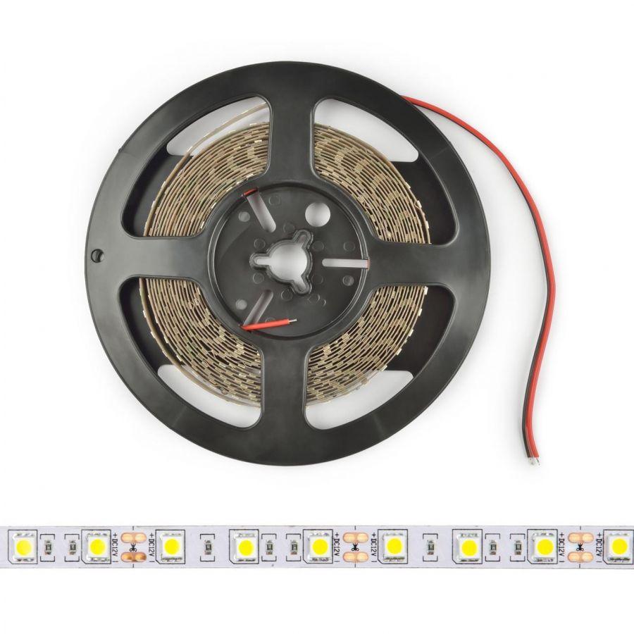 Светодиодная лента Uniel (UL-00004371) 7,2W/m 30LED/m 5050SMD RGB 5M ULS-M22-5050-30LED/m-10mm-IP20-DC12V-7,2W/m-5M-RGB PROFI