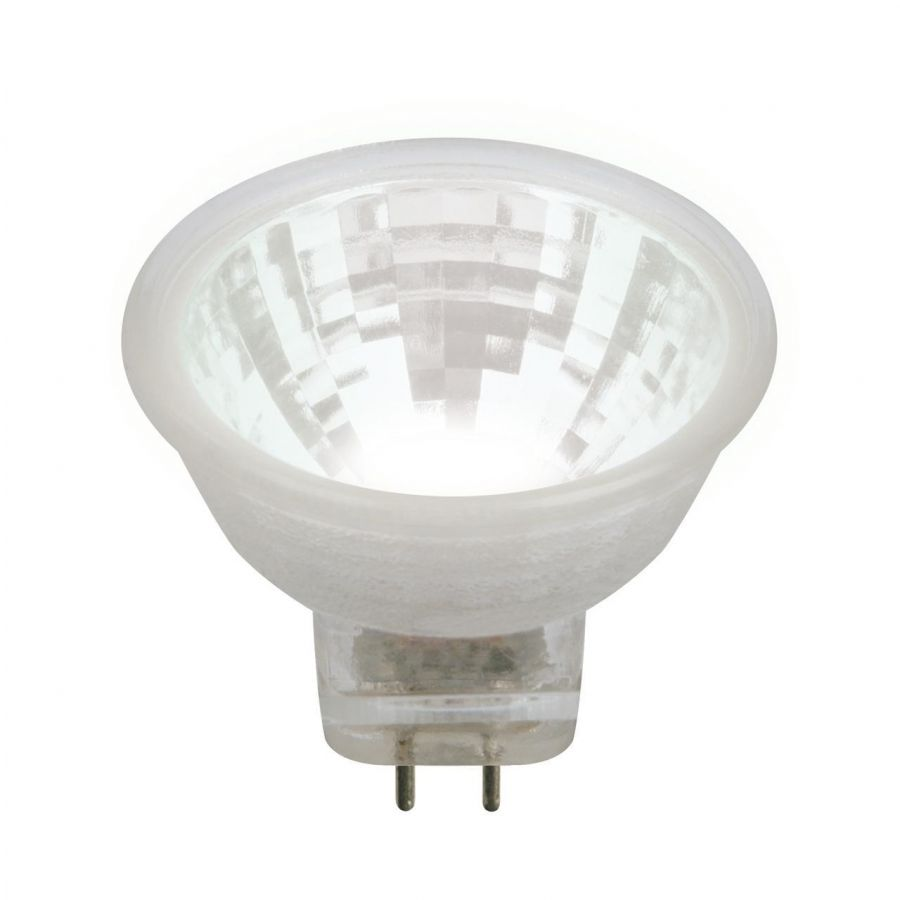 Лампа светодиодная (UL-00001703) Uniel GU4 3W 4000K прозрачная LED-MR11-3W/NW/GU4/220V GLZ21TR