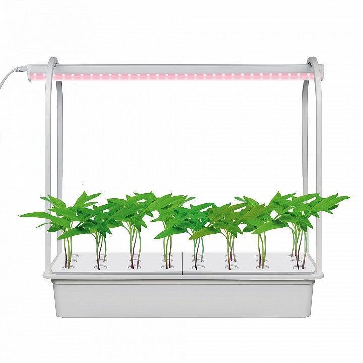Светодиодный светильник для растений (UL-00004499) Uniel Minigarden ULT-P44D-10W/Sple IP20 Aqua Simple White