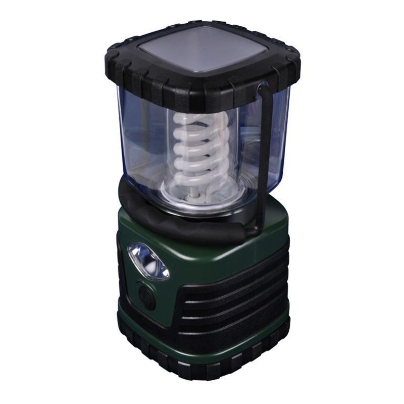Кемпинговый энергосберегающий фонарь (03816) Uniel от батареек 122х122 13 лм TL091-B Green