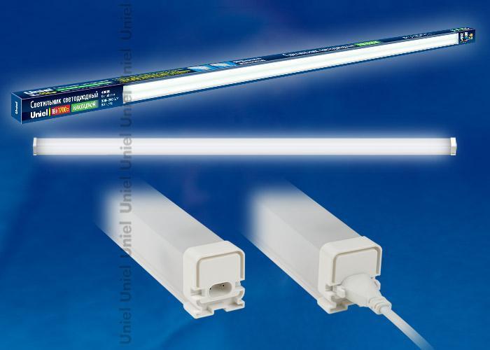 Мебельный светодиодный светильник (UL-00001618) Uniel ULO-BL120-18W/NW/K IP54 White