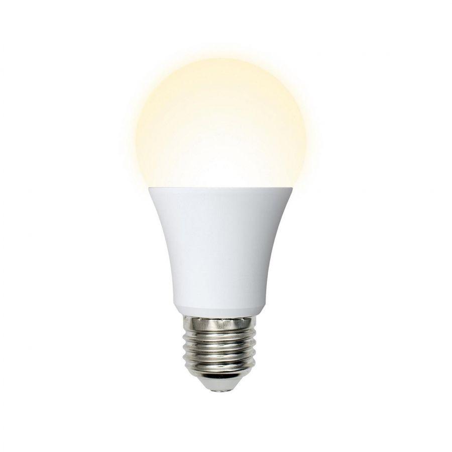 Лампа светодиодная (UL-00001064) E27 7W 3000K матовая LED-A60-7W/WW/E27/FR/O