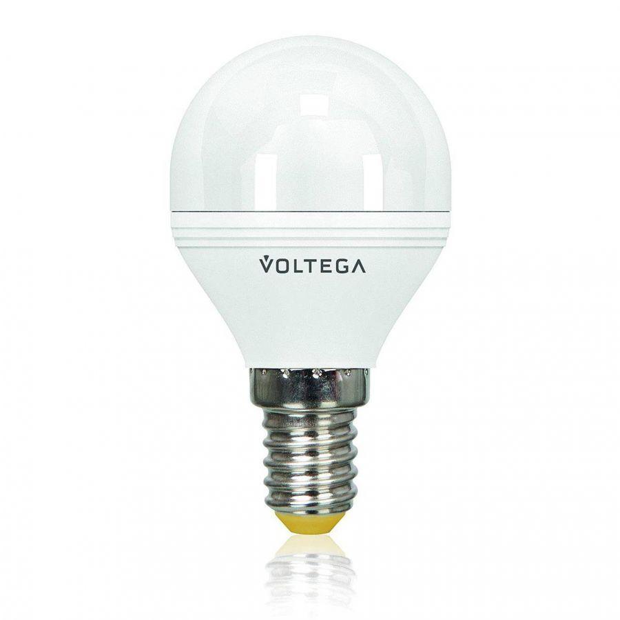 Лампа светодиодная E14 5.5W 2800К матовая VG2-G2E14warm5W 8341