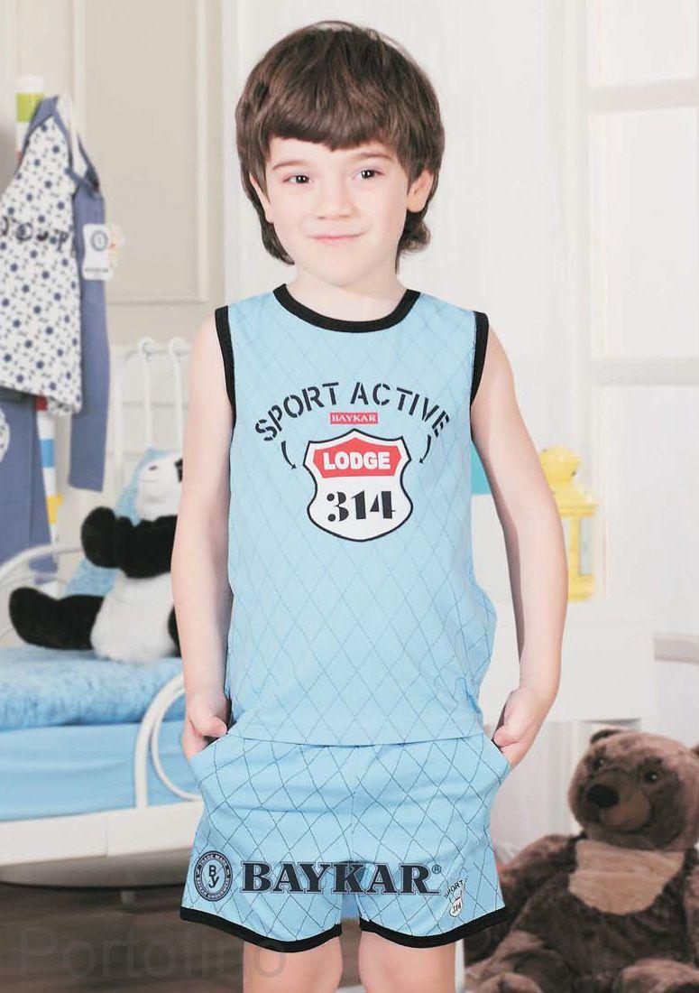 9067 Пижама для мальчика Baykar