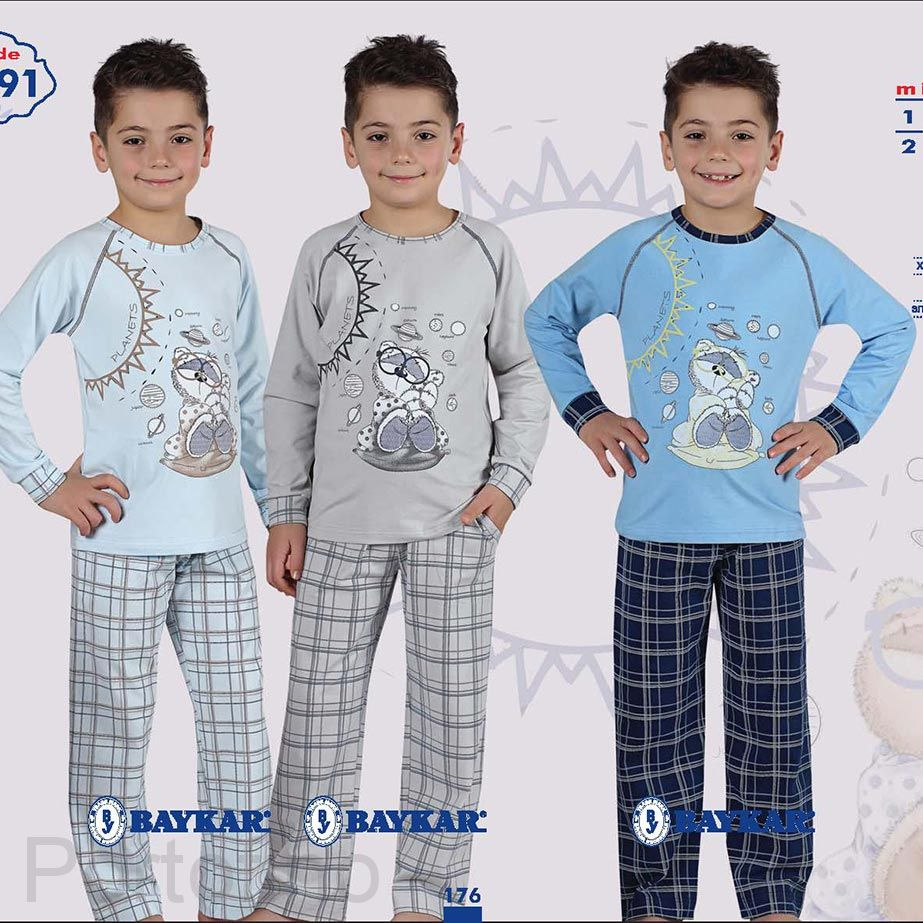 9091 Пижама для мальчика Baykar