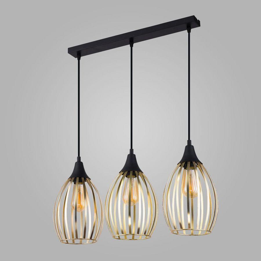 Подвесной светильник TK Lighting 2817 Liza Gold