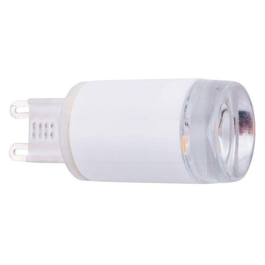 Лампа светодиодная G9 3W 3000K прозрачная 9173