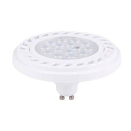 Лампа светодиодная GU10 9W 3000K прозрачная 9345