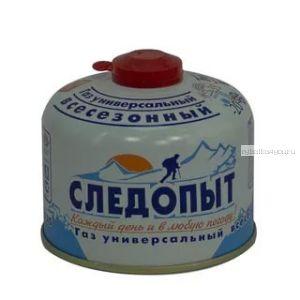 Газ для порт. плит Следопыт  метал. баллон, 230гр. резьб (всесезонный) (Артикул: PF-FG-230 )