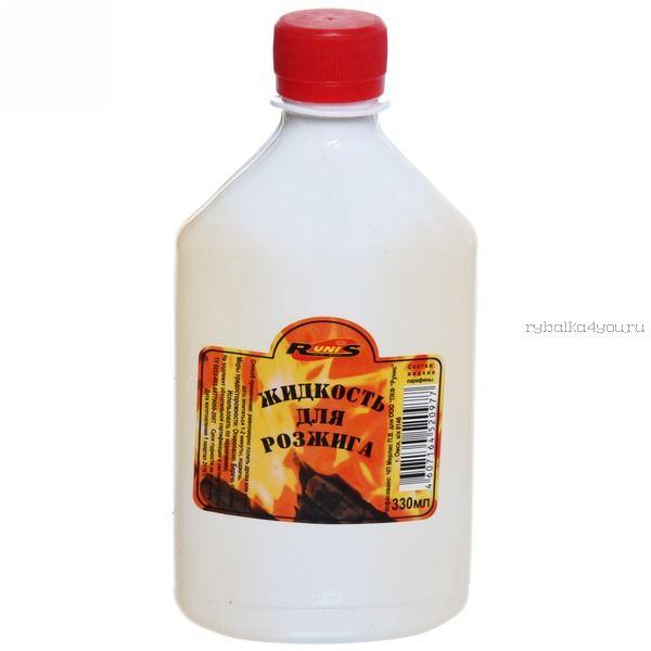 Жидкость для розжига костра RUNIS с дозатором, 0,5л. 24  (Артикул: 1-043 )