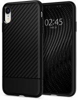 Купить чехол Spigen Core Armor для iPhone XR черный тонкий чехол для Айфон XR в Москве в интернет магазине аксессуаров для смартфонов elite-case.ru