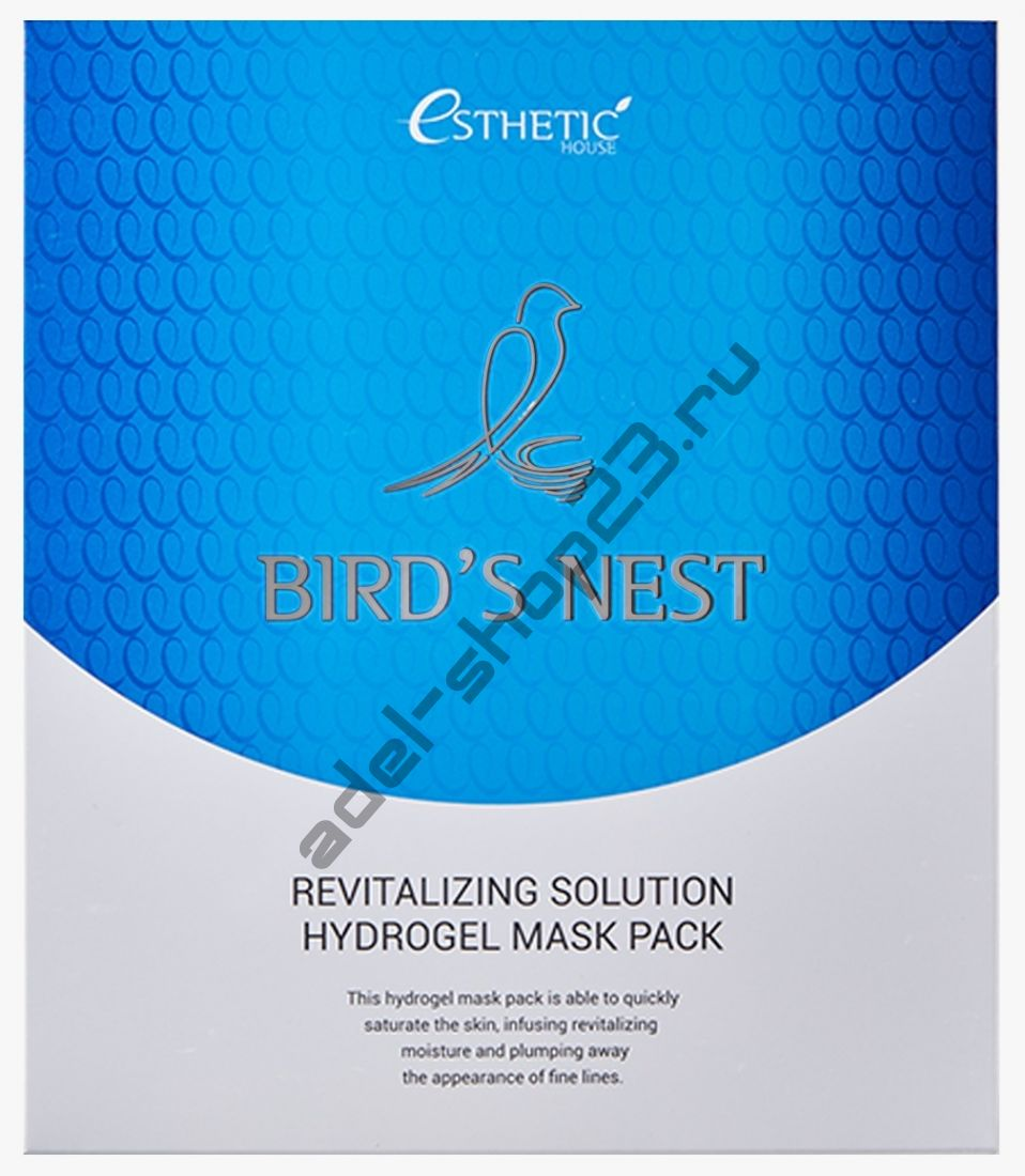 ESTHETIC HOUSE - Гидрогелевая  маска BIRD'S NEST REVITALIZING HYDROGEL MASK PACK
