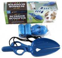 Набор с ножницами-лопаткой для уборки за собакой на улице Scissor Scooper (1)