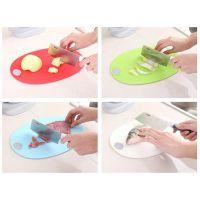 Комплект кухонных досок с подставкой и точилкой для ножей Улитка, 4 шт (2)