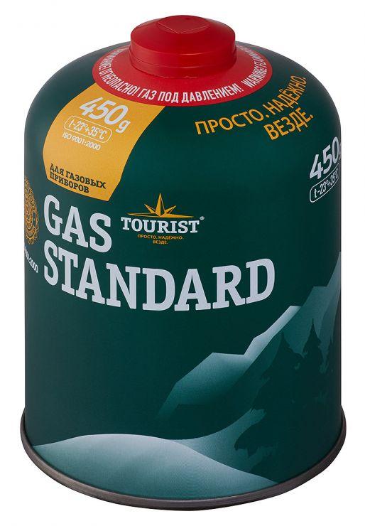 Газовый баллон TOURIST TBR-450 (изобутан/пропан/бутан)
