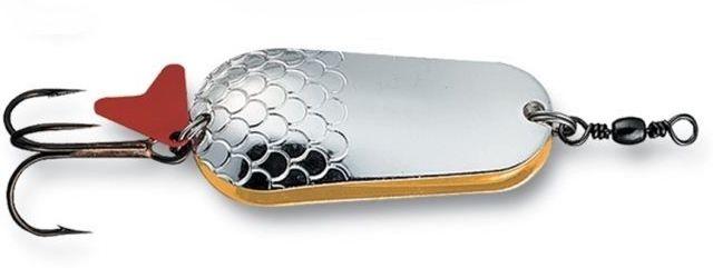 Блесна Effzett Twin Silver/Gold