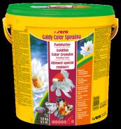 SERA Голди Колор Спирулина  для золотых рыбок интенсивный окрас (10л)