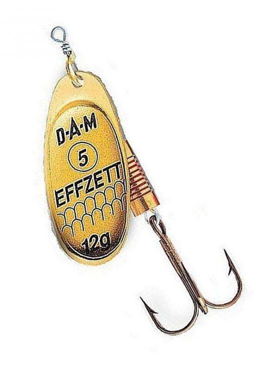 Блесна DAM Effzett Spinner Gold