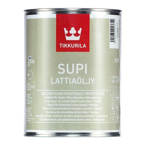 Масло для полов в банях и саунах Supi Lattiaolju