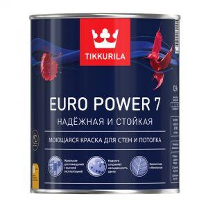 Евро 7 (Euro Power 7) Матовая латексная краска на основе акрилового сополимера