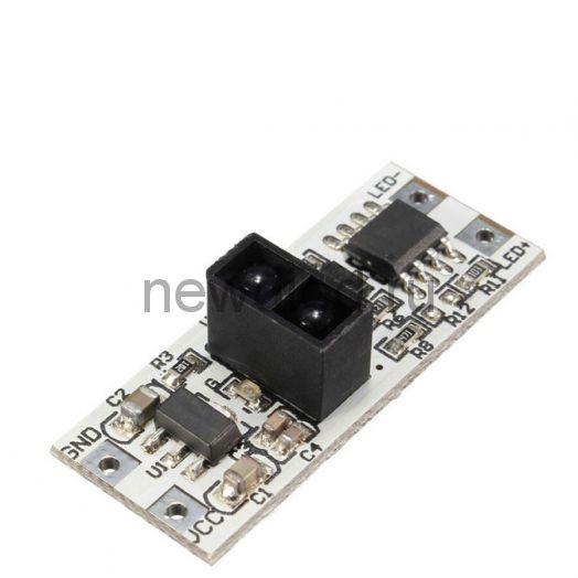 Контроллер встроенный для профиля 5020 12/24V 8A Oreol