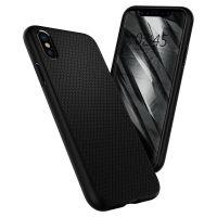Купить чехол Spigen Liquid Air Armor для iPhone Xs / X черный: купить недорого в Москве — выгодные цены на чехлы для айфон ХС в интернет-магазине «Elite-Case.ru»