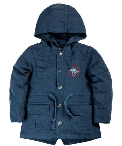Куртка-парка с капюшоном для мальчиков 1-4 лет Bonito темно-лазурный