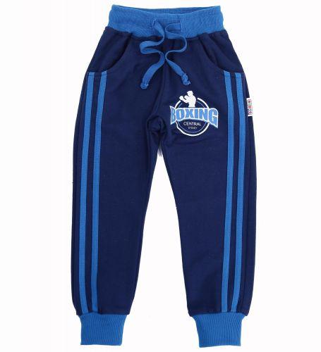 Спортивные брючки для мальчика 2-5 лет Bonito kids темно-синие