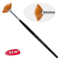 13 D. Кисть для дизайна веерная 13D/6-s, нейлон / Nail Art Brush Fan 6-s PNB, nylon