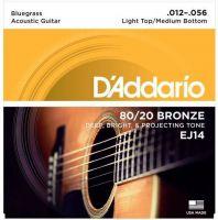 D`ADDARIO EJ14 (012-056) Струны для акустической гитары