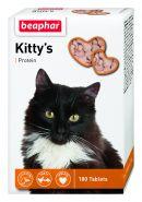 Beaphar Kitty's + Protein Кормовая добавка для кошек с протеином (180 табл.)