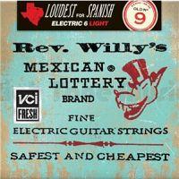 DUNLOP RWN0942 Rev. Willy's Lottery (09-42) Струны для электрогитары