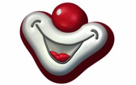 Форма для мыла и шоколада  Улыбка клоуна