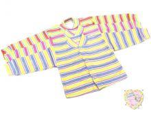 """Кофта детская с длинным рукавом C-KF121-RB(pl) (рибана полоска) оптом """"Мамин Малыш"""""""