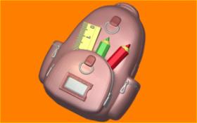 Форма для мыла и шоколада  Школьный рюкзак