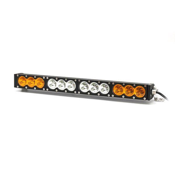 Однорядная светодиодная балка OBP-120W Сombo комбинированный свет (длина 56 см, 22 дюйма)