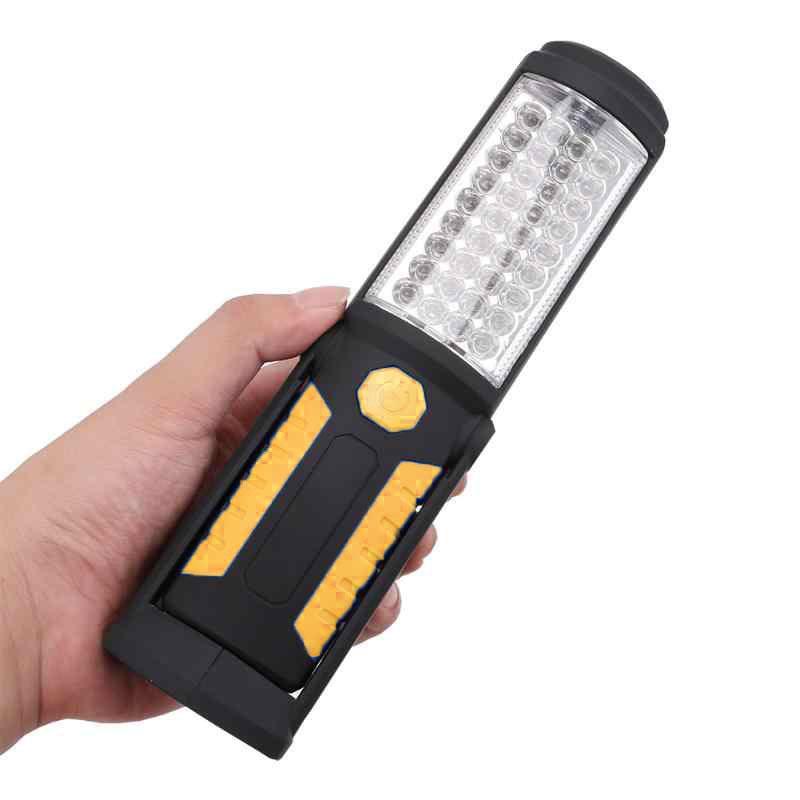 Светодиодный фонарь TorchLite, цвет ручки желтый
