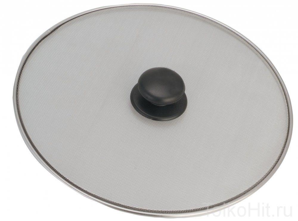 Крышка-сетка от масляных брызг с ручкой, 29 см