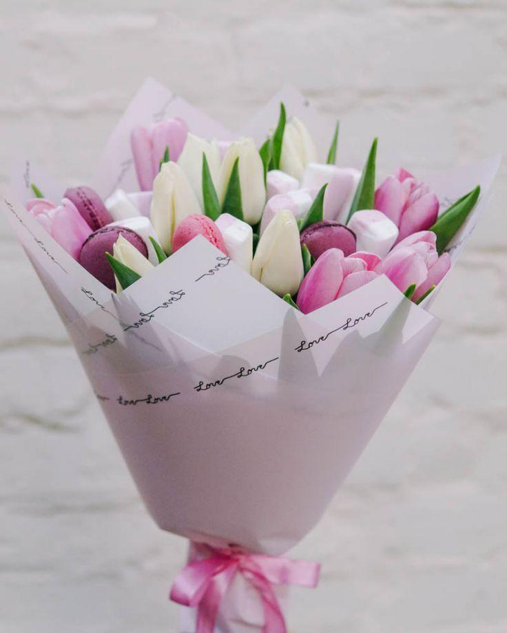 """Букет цветов """"Жаклин"""" c доставкой в Комсомольске"""