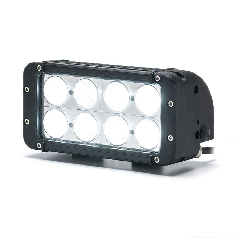 Двухрядная светодиодная балка DCQ-80W combo комбинированный свет (длина 20 см, 8 дюймов)