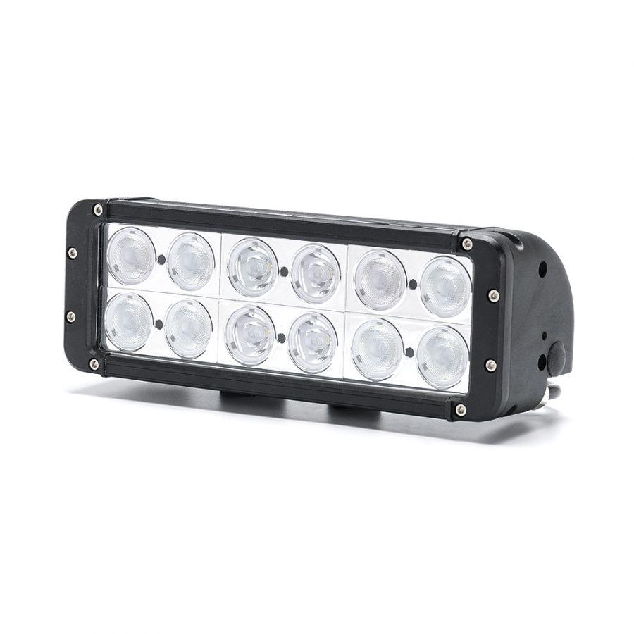 Двухрядная светодиодная балка DCQ-120W combo комбинированный свет (длина 28 см, 11 дюймов)