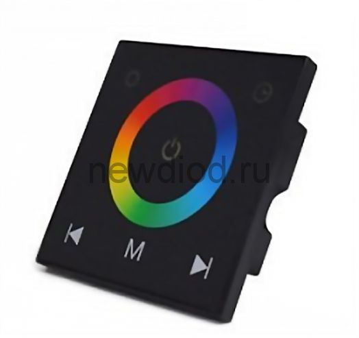 RGB контроллер встроенный сенсорный 7103 Touch Panel 12/24V 4A*3 Oreol