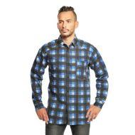 Рубашка  мужская  фланель  №UZ160
