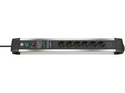 Сетевой фильтр Brennenstuhl Premium-Protect-Line 60 000 А; 6 розеток и 2 порта USB, 3 метра (1391000507)