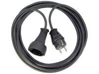 Удлинитель Brennenstuhl 10 метров; кабель H05VV-F 3G1,5; черный, 1 розетка (1165460)