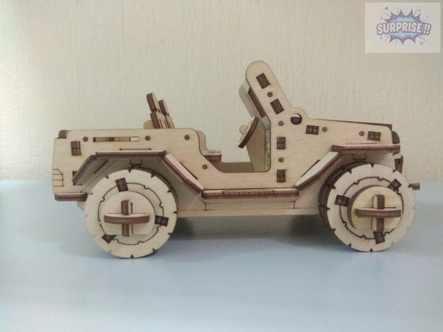 «Сафари джип» машинка для солдатиков и кукол