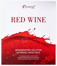 RED WINE REGENERATING SOLUTION HYDROGEL MASK PACK Гидрогелевая маска для лица, 1шт